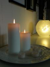 sovrum tavelvägg ljus