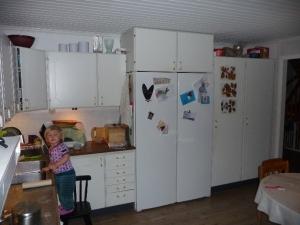 kök före diskbänksvägg