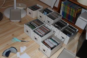 CD sortering