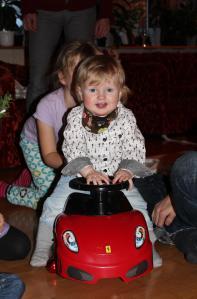 Juldag kör Ferrari F430