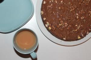 Kaka och te