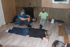 Köksbygge golvläggning