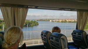 Trinity buss hem Stockholm