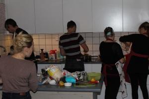 Bakdag 4 action i köket