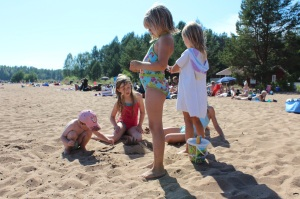 Sommar 2014 Byske havsbad 2